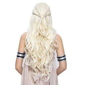 Khaleesi Costume Hair Wig