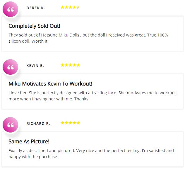 Hatsune Miku Testimonials And Reviews