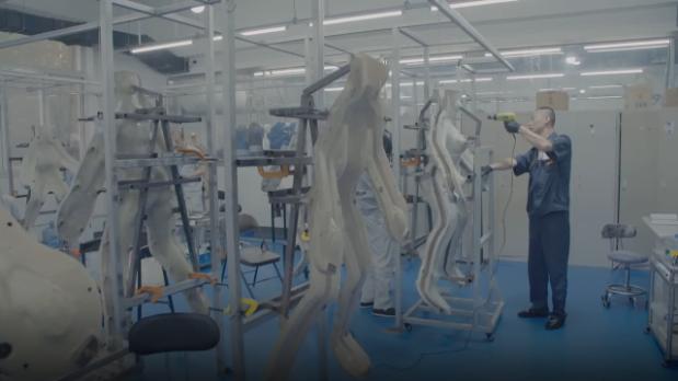 China Sex Doll Factory Process