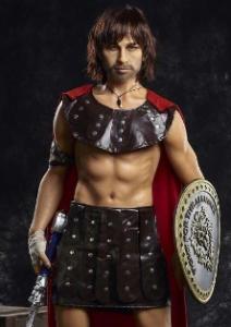 gladiator realistic male sex doll